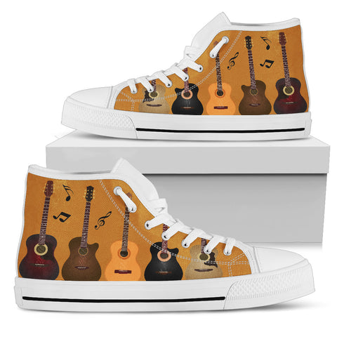 Guitar Women's High Top