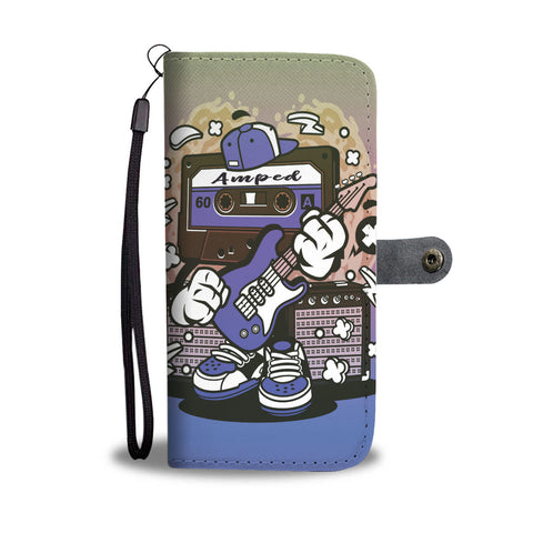 Amped Guitar Wallet Phone Case for Musicians and Music Freaks