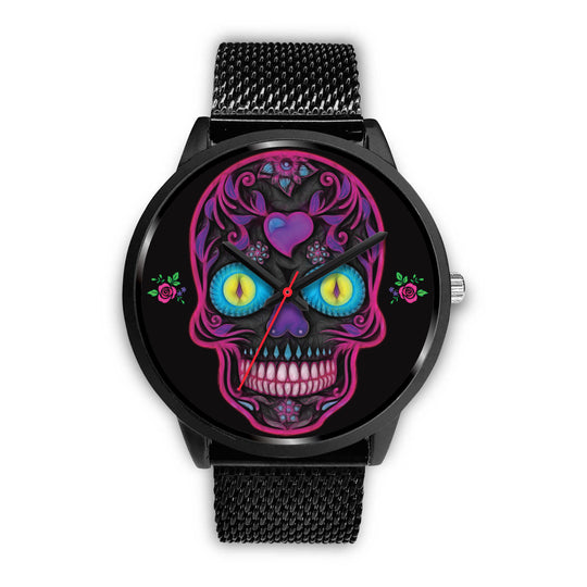 Wicked Skulls Sugar Skull Watch
