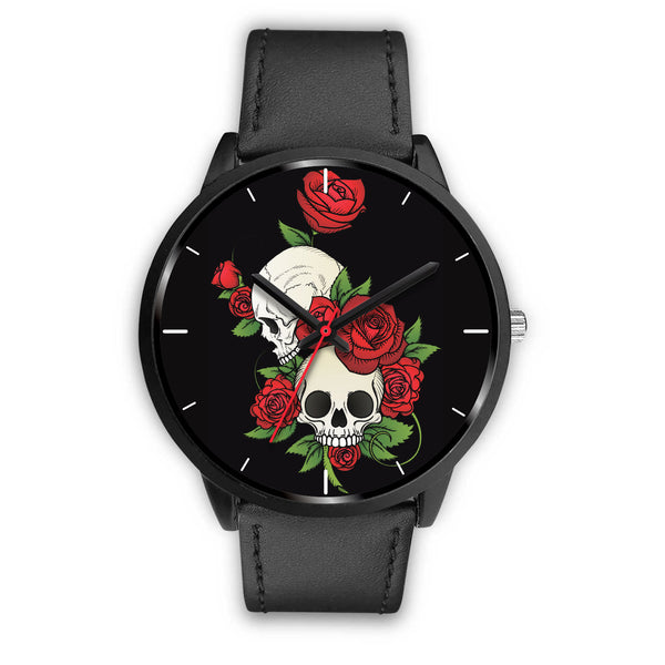 Skulls and Roses Watch for Men and Women