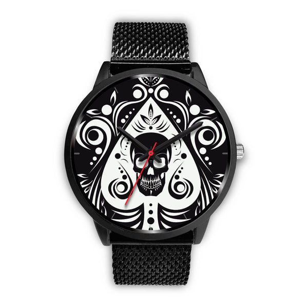 Skull Tattoo Design Watch