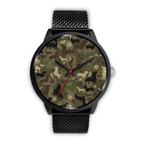 Dachshund Camo Watch for Lovers of Dachshunds
