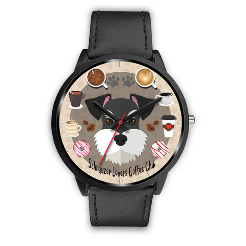 Schnauzer Lovers Coffee Club Watch