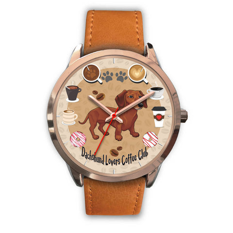 Dachshund Lovers Coffee Club Watch for Lovers of Dachshunds