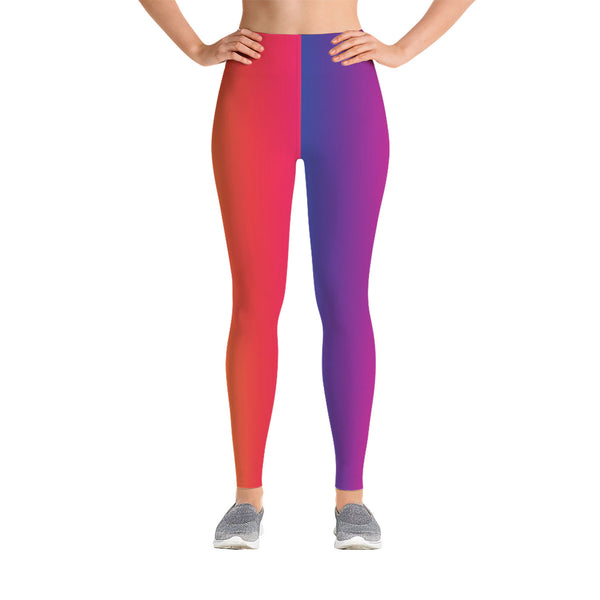 Colorful Gradient Leggings