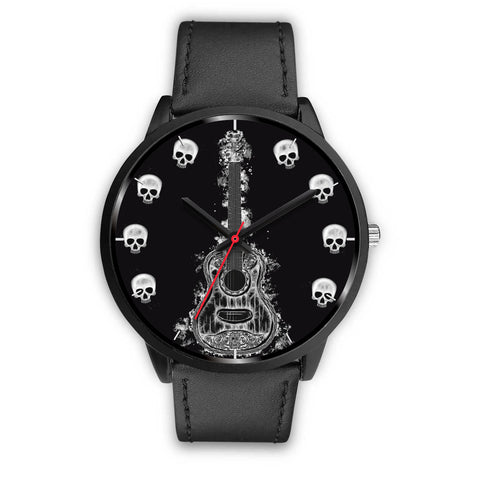 Guitar & Skulls Watch