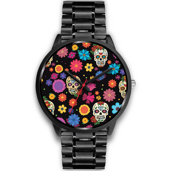 Sugar Skull Party Watch for Lovers of Skulls