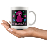 Faithful Poodle Coffee Mug for Lovers of Poodles and Dogs