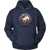 What The Pug Unisex Hoodie for Lovers of Pugs