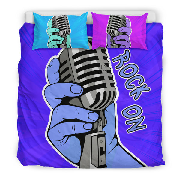 Rock On Bedding Set for Music Freaks