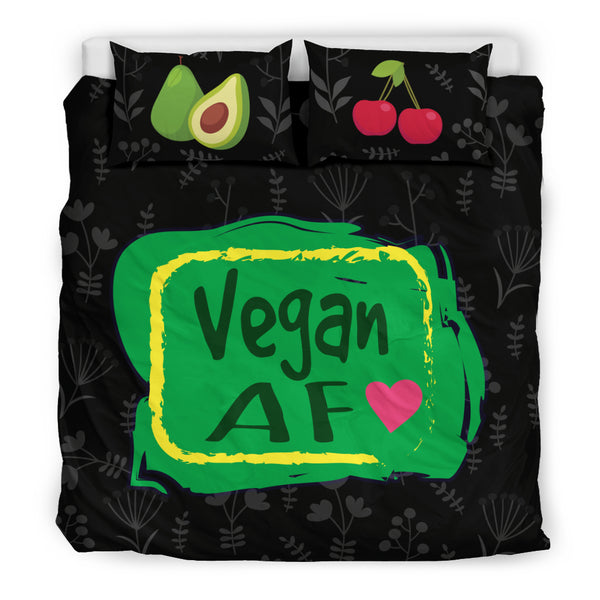 Vegan AF Bedding Set for Healthy Vegans