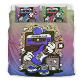 Amped Guitar Bedding Set for Musicians and Music Freaks