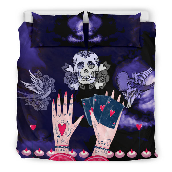 Love Ink Bedding Set for Tattoo Lovers