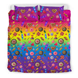I Like Candy and Skulls Bedding Set