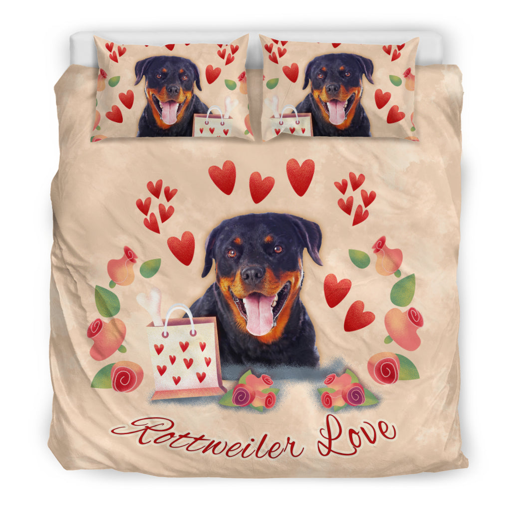 rottweiler bed sheets