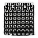 Aliens On My Mind Bedding Set Black