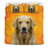 Labrador Retriever Dog Modern Art Bedding Set for Lovers of Labradors