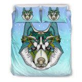 Friendly Husky Bedding Set for Lovers of Huskies