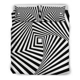 Stairway To The Stars Bedding Set Optical Illusion