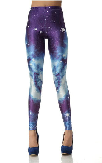 GALAXY PRINTED LEGGINGS - 6 Cool Styles
