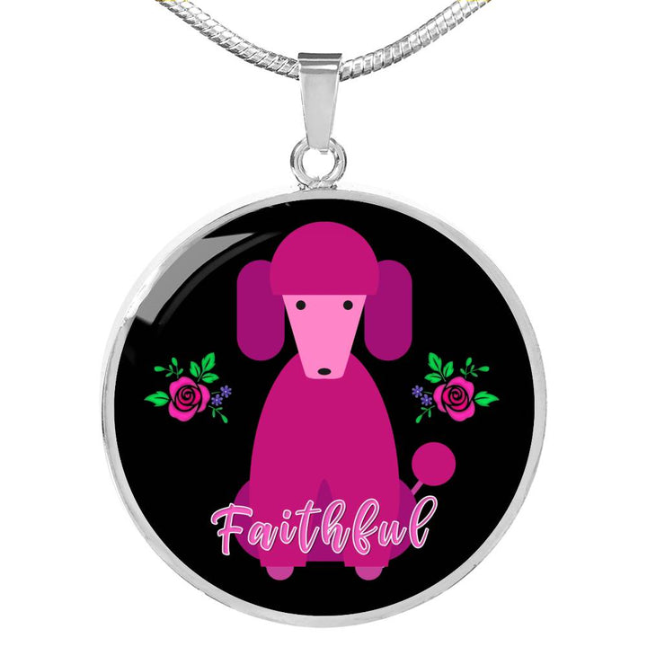 Faithful Necklace for Lovers - Limited Edition - Poodle Dogs