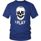 I Play District Unisex T-Shirt for Top Plays Gamers and Players