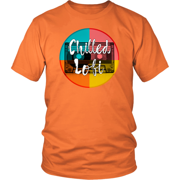 Chilled Lofi Unisex Tshirt for Lo-Fi Chill Music Lovers
