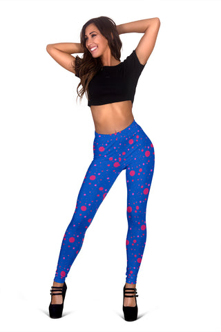 Pink and Blue State of Mind Leggings