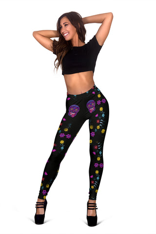 Sugar Skull Superstar Leggings