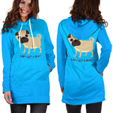 Can I Get A Hug Pug Hoodie Dress for Lovers of Pugs
