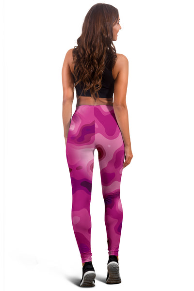Pretty In Pink Camo Leggings
