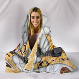 Paranormal Guitar Therapy Hooded Blanket for Lovers of Music & Guitars