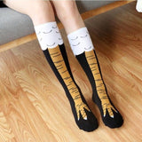 Chicken Socks - Thigh High or Knee High