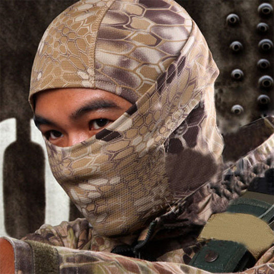 Camo Balaclava Tactical Full Face Hat Mask - 4 Styles Available