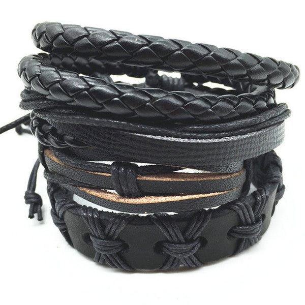 Leather Punk Bracelets - So Many Styles To Pick From!