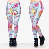 The Munchies Fast Food Printed Leggings