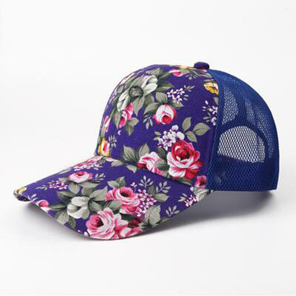 Floral Pattern Baseball Caps - 6 Styles Available