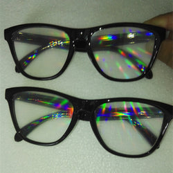 TRIPPY FESTIVAL RAINBOW DIFFRACTION GLASSES - 6 STYLES AVAILABLE