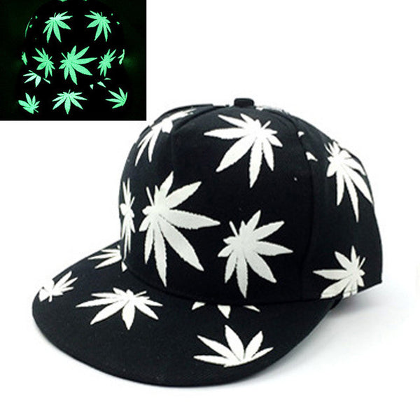 Z SOLD OUT Luminous Glow In The Dark Snapback Baseball Caps - 14 Styles Available