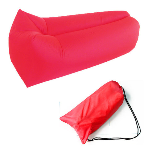 Festival Bed Lazy Sofa Nylon Wind Couch - Available In 10 Colors And 2 Styles