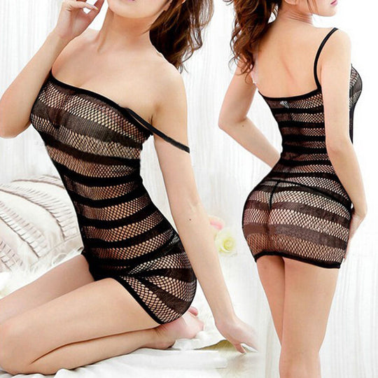 Come Here Now Body Stocking Dress