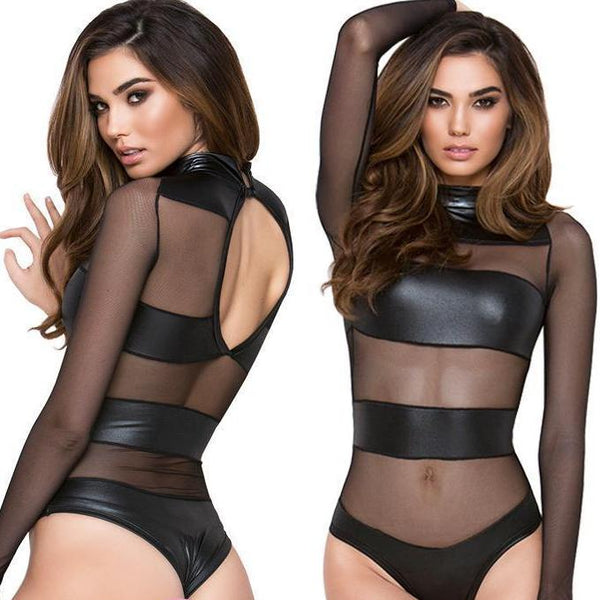 Thief Of Hearts Mesh Bodysuit