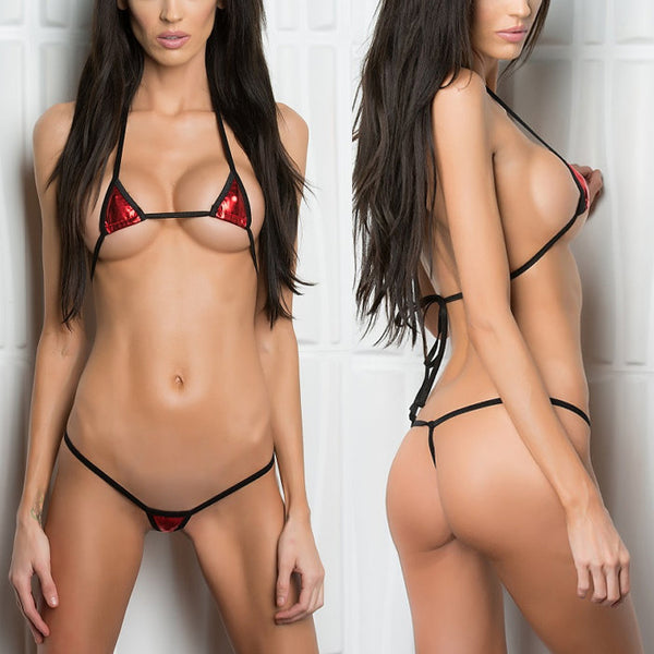 Tiny Micro Bikini G-String Thong Sets