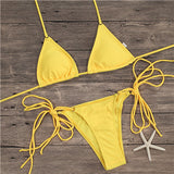 Summer in Brazil Sexy String Bikini Set