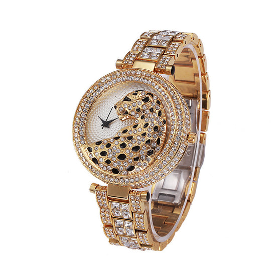 Luxurious Cheetah Watch