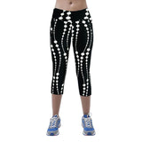 Sexy Printed Mid Calf Leggings - 10 Styles