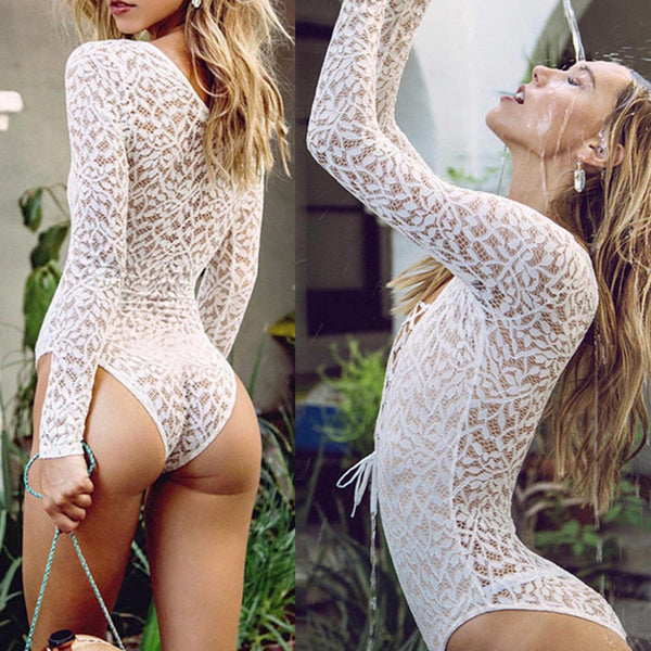 Catch Me Lace Bodysuit