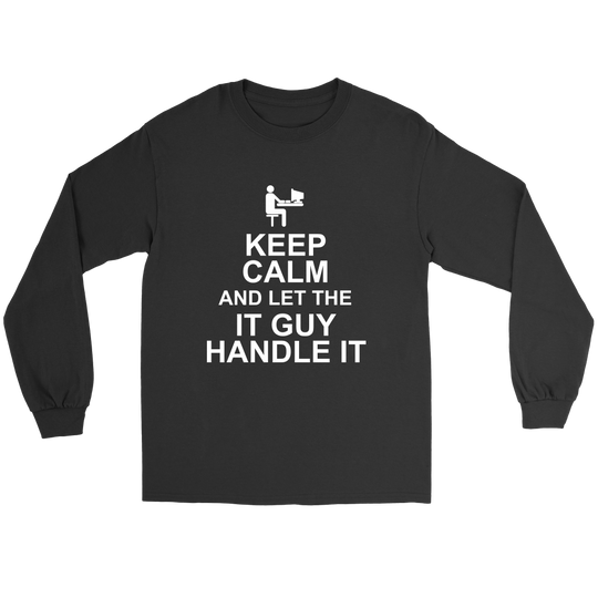 Keep Calm IT Guy Shirts And Hoodies