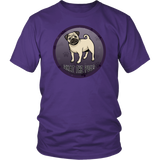 What The Pug District Unisex Shirt for Lovers of Pugs