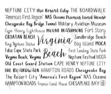 Virginia Beach, VA Travel Mug